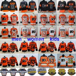Philadelphia Flyers Jerseys Claude Giroux Travis Konecny Shayne Gostisbehere Jakub Voracek Ivan Provorov Carter Hart Nolan Patrick Couturier
