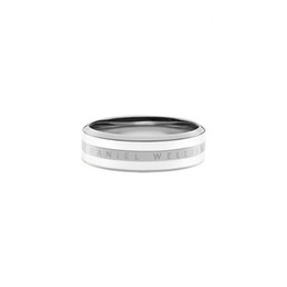 Fashion rose gold rings titanium steel men women couple silver rings Crystal versatile DW rose classic ring