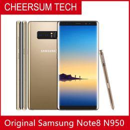 Refurbished Unlocked Samsung Galaxy Note 8 N950F N950U 6G RAM 64G ROM Original mobile smartphone Octa Core