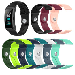 18mm high quailty Replacement waterproof silicone watchband for huawei S1 huawei B5 smart Watch Style Wrist Band Sports Strap Quick Release