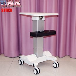 Beauty Spa Iron Handle Stand Assembled Iron Trolley Roller Cart For Cavitation Slimming Lipo Laser Machine Stand for Display