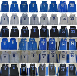 College Basketball Duke Blue Devils Jersey Kyrie Irving 1 Zion Williamson Cam Reddish RJ Barrett Marvin Bagley III Jayson Tatum Ingram Allen