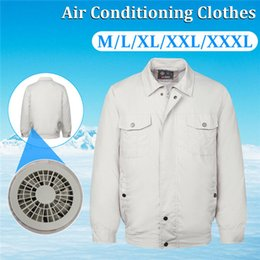 Air conditioning clothes Cool conditioned Work Jacket hot summer Cool clothes heatstroke To prevent heatstroke