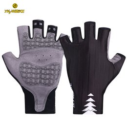 YKYWBIKE Cycling Gloves Bike Men MTB Mountain Bicycle Accessories Half Finger Gel Bisiklet Eldiveni Guantes Ciclismo Road Racing