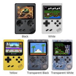 Hot RS-6 A Retro Portable Mini Handheld Game Console 8-Bit 3.0 Inch Color LCD Screen Kids Color Game Player Built-in 168 Games