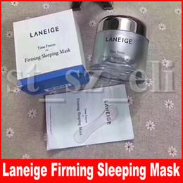 Laneige Time freeze firming sleeping mask 60ml Moisturising Face Skin Care Facial Mask