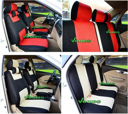 Universal Seat Cover For SUBARU Forester Outback Xv Brat Vivio Ecvt By Breathable Material+Airbag Compatible+Logo+wholesale+Free Shipping