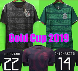 Whosales New Camisa Mexico 2020 Soccer Jersey,Mexico Jerseys 2019 CHICHARITO G DOS SANTOS Layun vela LOZANO Custom Football Shirt Uniform
