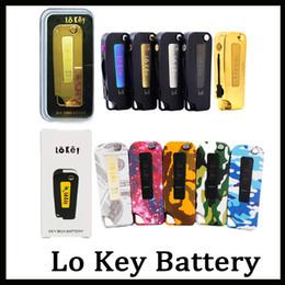 Lo Key Battery Flip Vape 350mah preheating 3 setting Voltage 2.4-3.2-4.2V For Vape Cartridges VS imini vmod Palm battery 0266251