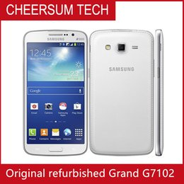 Sale Original 1080p Samsung Galaxy Grand 2 G7102 Cell Phone 8mp Camera Gps Wifi Dual Sim Quad-core Cell phone Shipping