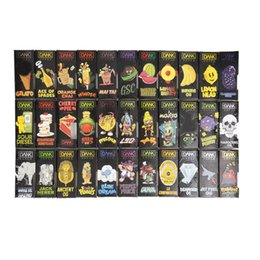 43 Flavors Dank Vapes Cartridge Pack Cereal Carts 1.0ml 1.1 Gram Ceramic Coil Vape Carts Black Retail Package for Thick Oil