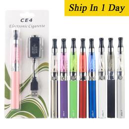 Ego starter kit CE4 atomizer Electronic cigarette e cig kit 650mah 900mah 1100mah EGO-T battery blister case Clearomizer EC045