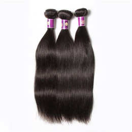 Malaysian virgin hair straight bundles 6A malaysian remy weaves 100g strand 4 Bundles per lot unprocessed remy unprocessed hair extensions