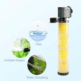 SOBO 30W 1800L H Multifunction Aquarium Submersible filter Pump Fish Tank 4 Layers Internal Filter with Media AC220V-240V