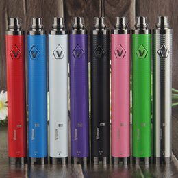 2019 100% Quality Vision Spinner 2 II 1650mAh 510 Thread Vape Batteries + USB Charger Mods eGo EVOD Twist 3.3-4.8V Variable Voltage Battery