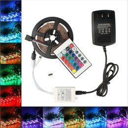 High Birght 5M 3528 SMD Led Strips Light Warm Pure White Red Green RGB Waterproof IP65 Flexible 5M Roll 300 Leds 12V outdoor Ribbon