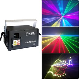 NEW 3000mW rgb mini party lights,disco laser animation laser projector for christmas
