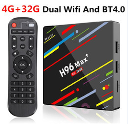 H96 Max Plus Android 9.0 4GB 32G Smart TV Box Rockchip RK3328 Dual Wifi BT4.0 Smart TV H96 Max+
