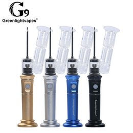 G9 H enaill Plus portable dab rig with 2500mAh battery quartz ceramic titanium nail waterproof case in stock 100% Original