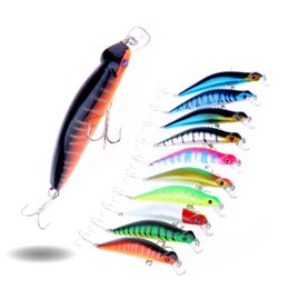 HENGJIA 400pcs wobblers 10.5CM 11.1G 4# hooks minnow Hard Baits Plastic pike Fishing lures isca artificial carp Fishing tackle free shipping