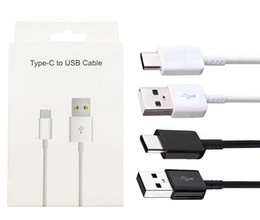 Type c Type-C Original OEM 1.2M 4FT Fast Charging Cable For Samsung S10 S9 S8 Plus 2A High Speed Charging Sync Data Cord With Package Box