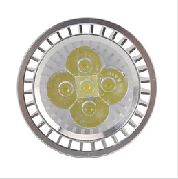 Silver E27 9W 12W 15W 4x3W PAR20 LED Spot Lights Lamps Warm Natural Cool White 110V 220V Dimmable Free Shipping