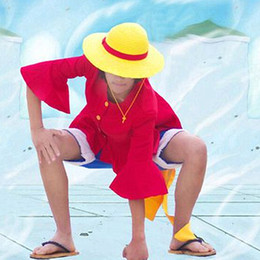 Ten years later Monkey D. Luffy cosplay costumes Japanese anime ONE PIECE clothing Halloween Masquerade Mardi Gras Carnival costumes