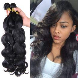"7a Queen Hair Brazilian Body Wave 3 4Pcs Lot 10""-30"" brazilian virgin hair No Mixs Human Hair,Virgin Brazilian Hair weave bundles"
