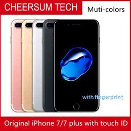 hotsale Original Unlocked iPhone 7 iphone 7 plus 4G LTE Quad core 4.7'' 12MP 2G RAM 32G 128G 256G with Fingerprint refurbished Phone