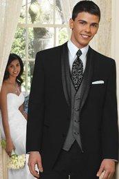 Wholesale 2015 tuxedos suits men suits High quality Groom Tuxedos Best Man Suits jacket pants wool blend classic fit slim men suits for grooms