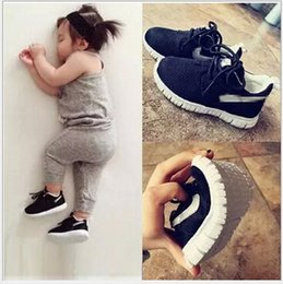 Wholesale 2015 Kids Baby Athletic Shoes Running Shoes Black Children New Fashion Shoes Boy And Girls Sports Shoes basketball shoes