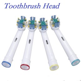 Wholesale High Quality set Electric B Tooth Brush Heads Toothbrush Replacement Soft Bristle for Braun Floss Action