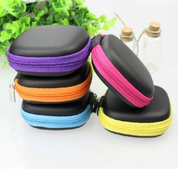 Wholesale Earphone Headset Storage Carrying Bag Retail Package Headphone Earbud Case Cover For USB Cable Key Coin Mini Zipper Case