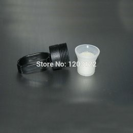 Wholesale rings cups Professional Permanent Makeup Ink Cups Rings Holder And Ink Pigment Sponge Cups