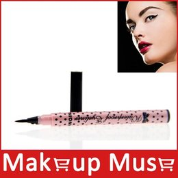 Wholesale Professional makeup liquid eye liner black Eyeliner hours long lasting quick drying waterproof make up eyeshadow pen