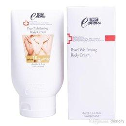 Wholesale Taiwan Emma Whole Body Whitening Lotion ML Swiss Neck Kneel Leg Body Whitening Cream Skin Care Product Body Lotion Body Cream