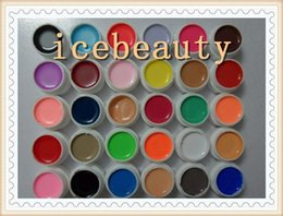 Wholesale HOT Colors Milky Pure Colour UV Gel Uv gel Set Builder Gel for Nail Art A2