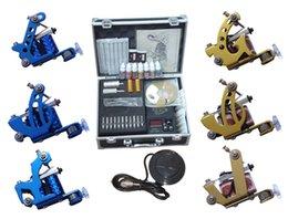 Wholesale Professional Complete Tattoo Kit Tattoo Starter Set Body Art kit Machines TK033