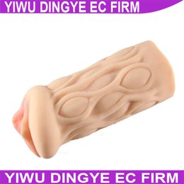 Wholesale w1028 Fake Ass Sex Toy Men Masturbators Pocket Pussy Realistic Vagina Masturbation Cup Silicone Toys Sex Toys Sex Products for Men