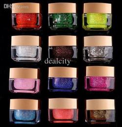 Wholesale One Step Nail Gel Polish Pure UV Gel Glitter Shiny Cover Nail Art Tips Design Extension Sets DIY Decoration Gel UV Nail Polish sets