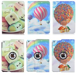 capa for ipad mini 4 case lovely cute pattern stand 360 degree rotation cases smart magnetic flip leather cover for apple ipad mini4