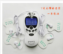 Wholesale Digital meridian therapy device lumbar physiotherapy charging home mini electronic acupuncture massage pulse IF