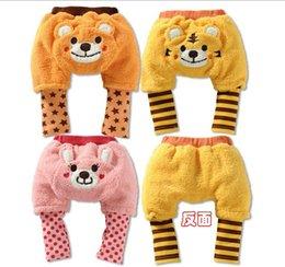 Wholesale HOT yuelinfscotton pp pants baby winter pants toddler baby legging infant wear