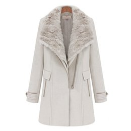Discount White Wool Coats For Ladies | 2017 White Wool Coats For