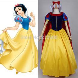 Wholesale Custom Made Princess Snow White Costume Dress Snow White Costume Adult Women Cosplay Costume