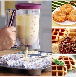DIY Bolo Ferramenta Massa Dispensador Cupcake Panqueca Massa Dispenser Fermento Pastelaria Ferramentas Mix Pastelaria Baking Horta Frete Grátis D2623 12pcs