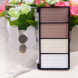 Wholesale fashion Color Pressed Powder Highlight And Contour Powder Shading Make up Cosmetic M01077