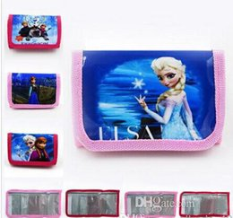 Wholesale Lowest Price design factory direct sale KIDS MINI Purse Frozen Movie Purse Wallets bags Children Gifts Purse Wallets bags anna elsa