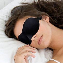 Wholesale Travel Sleep Masks Sleeping Comfort Breathable Rest D Eye Mask Shade Sponge Cover Blinder Blindfold Good Light Shading