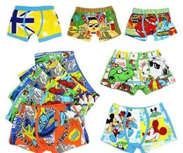 Wholesale 1 years old Children s underwear boy modal pants cartoon baby pants boy little big boy student boxer shorts